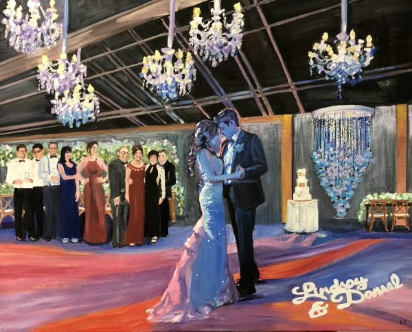 Lindsay and Daniels First Dance